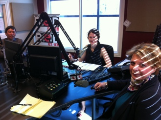 As a guest with Red Fox Radio Station in Surrey, BC Hosted by Larissa Horn - 2011